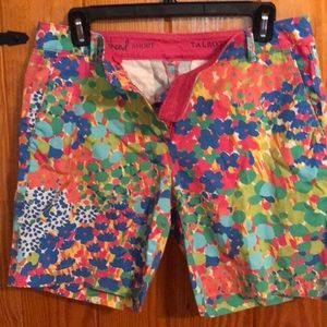 Colorful shorts.  Perfect for summer